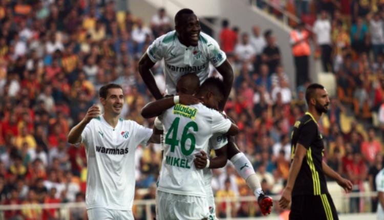 Bursaspor'un golleri yabancılardan