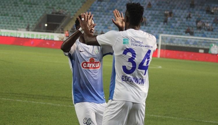 Çaykur Rizespor 3-0 Nevşehirspor Gençlik maç özeti ve golleri