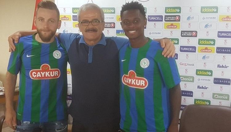 Çaykur Rizespor'da Lincoln ve Halil İbrahim Sönmez imzaladı