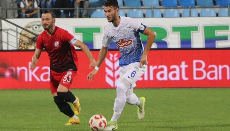 Çaykur Rizespor'un Balıkesirspor'a şansı tutmuyor