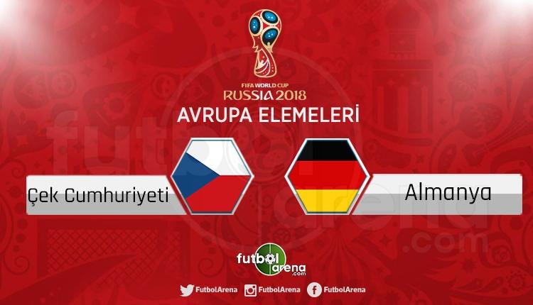 Çek Cumhuriyeti Almanya canlı skor, maç sonucu - Maç hangi kanalda?