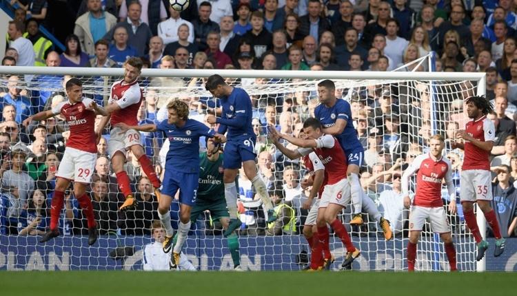 Chelsea - Arsenal maçı özeti (İZLE)