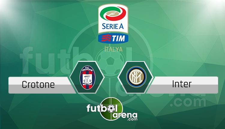 Crotone İnter canlı skor, maç sonucu - Maç hangi kanalda?