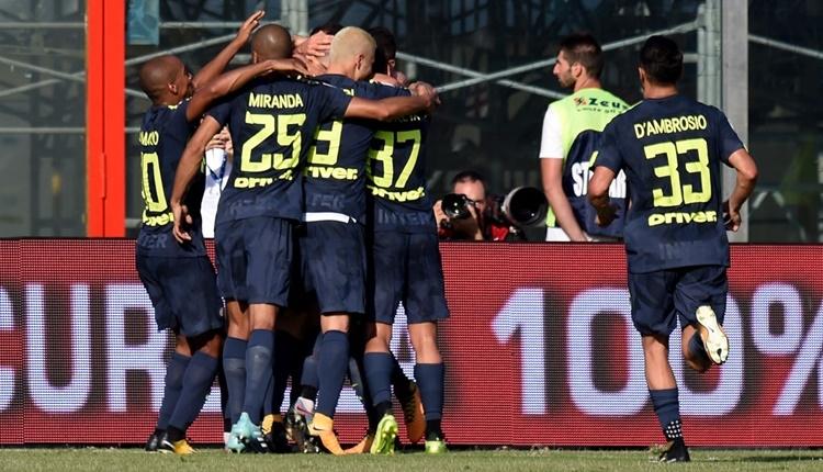 Crotone - Inter maçı özeti ve golleri (İZLE)
