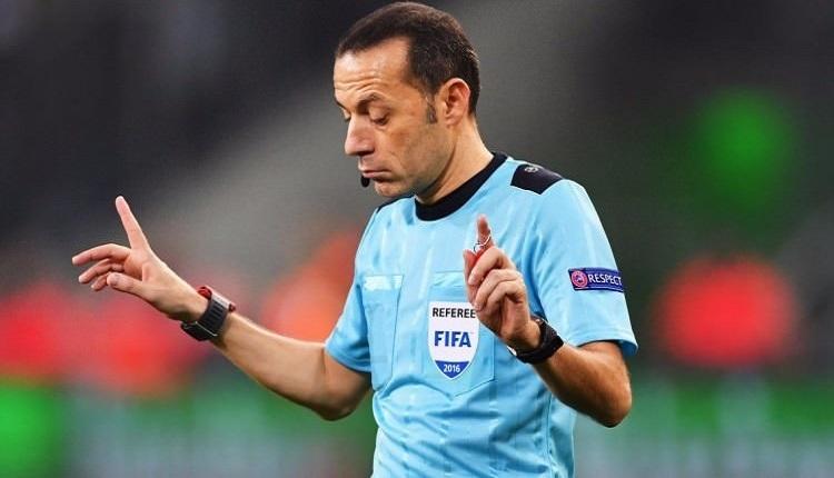 Cüneyt Çakır'a FIFA'dan görev