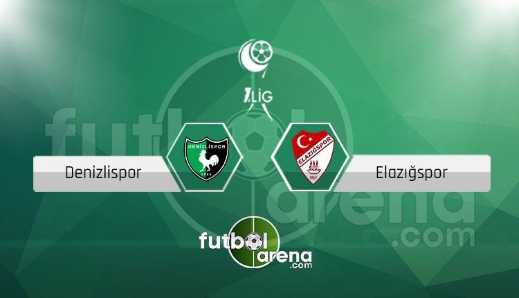 Denizlispor - Elazığspor maçı canlı skor, maç sonucu - Maç hangi kanalda?