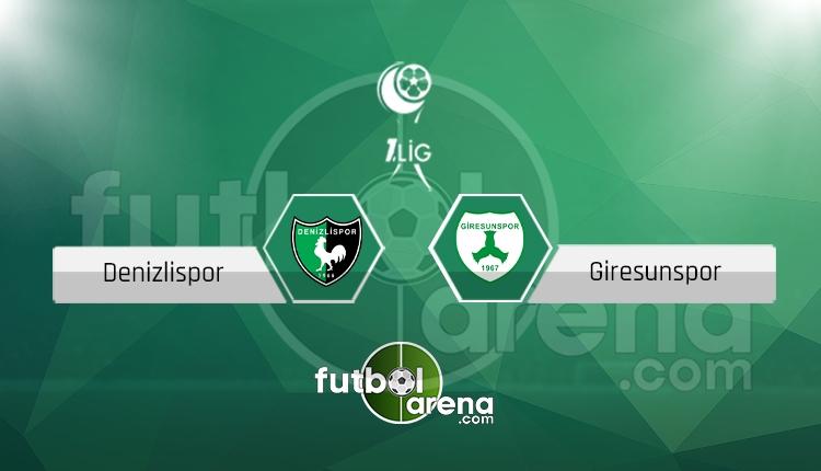 Denizlispor Giresunspor canlı skor, maç sonucu - Maç hangi kanalda?