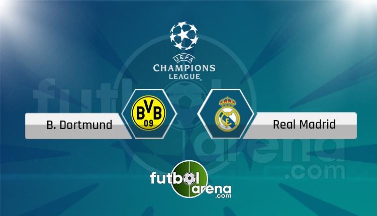 Dortmund - Real Madrid canlı skor, maç sonucu - Maç hangi kanalda?