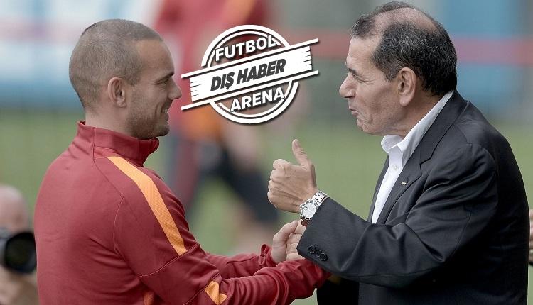 Galatasaray Başkanı Dursun Özbek Sneijder konusunda haklı çıktı
