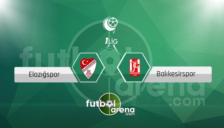 Elazığspor Balıkesirspor canlı skor, maç sonucu - Maç hangi kanalda?
