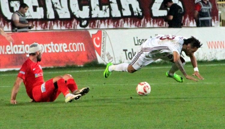 Elazığspor - Balıkesirspor maçı özeti ve golleri (İZLE)