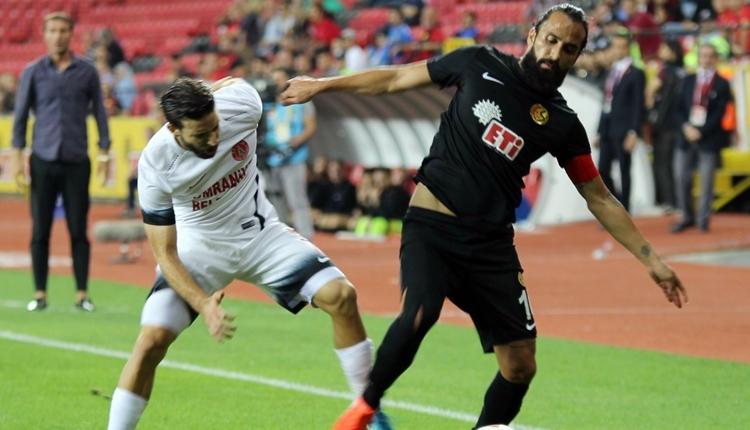 Eskişehirspor - Ümraniyespor maçında olay çıktı