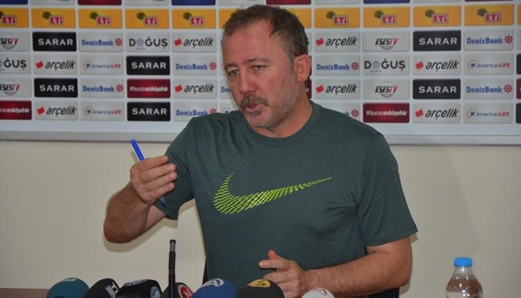 Eskişehirspor'da Sergen Yalçın'dan istifa iddialarına sert yanıt