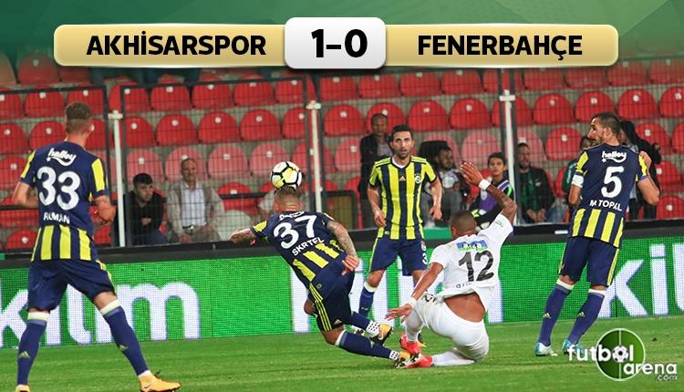 Fenerbahçe'ye Akhisarspor freni