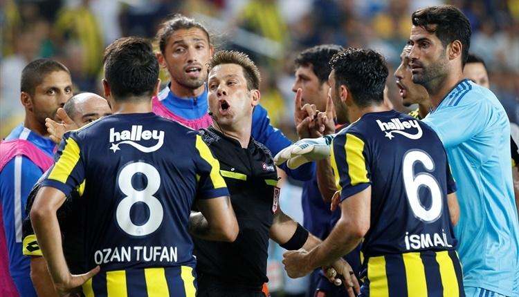Fenerbahçe - Başakşehir Fırat Aydınus'tan tartışmalı gol kararı