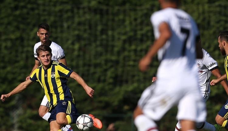 Fenerbahçe - Beşiktaş U21 maçında Beşiktaş bayrağı asılmadı