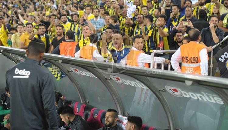 Fenerbahçe taraftarından Caner ve Lens'e tepki