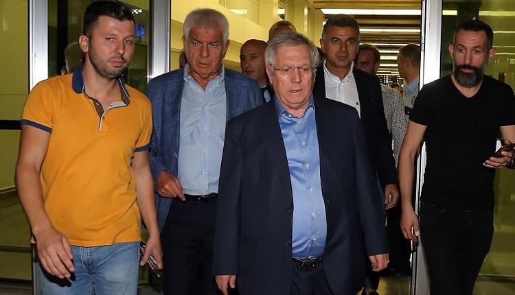 Fenerbahçe taraftarlarından Aziz Yıldırım'a İzmir'de protesto