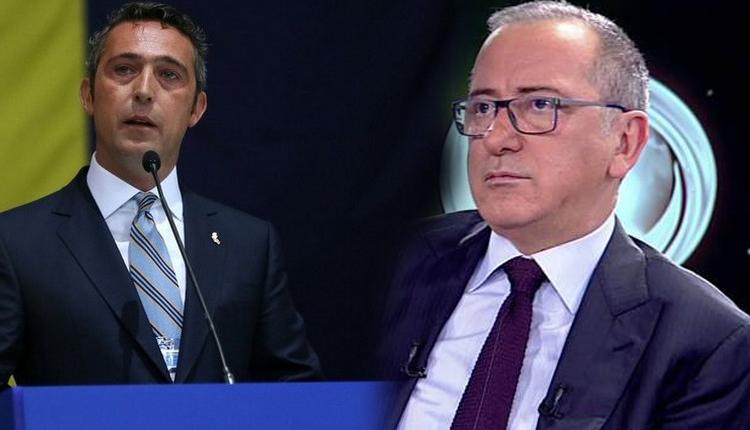 Fenerbahçe'de Ali Koç'un Galatasaray sözlerine ilk tepki