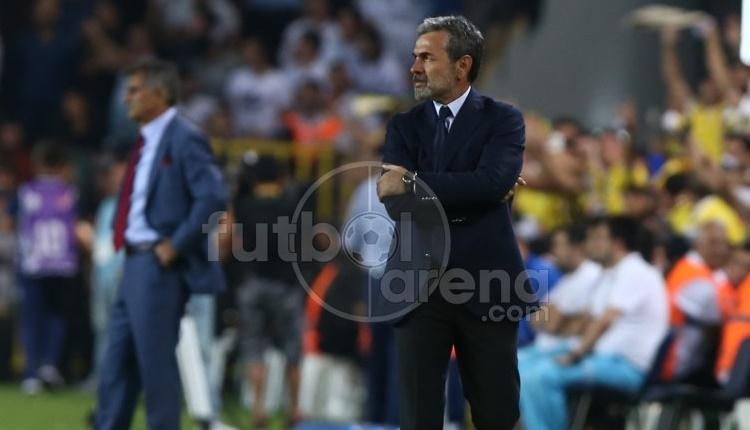 Fenerbahçe'de Aykut Kocaman ile Şenol Güneş tartıştı