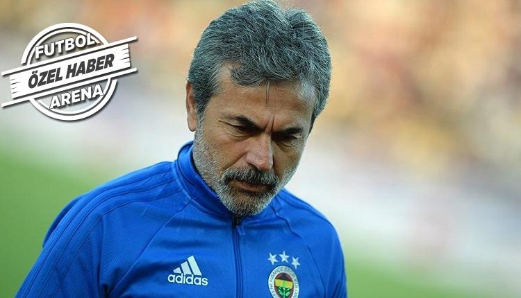 Fenerbahçe'de Aykut Kocaman kararını verdi! Kameni mi Volkan Demirel mi?