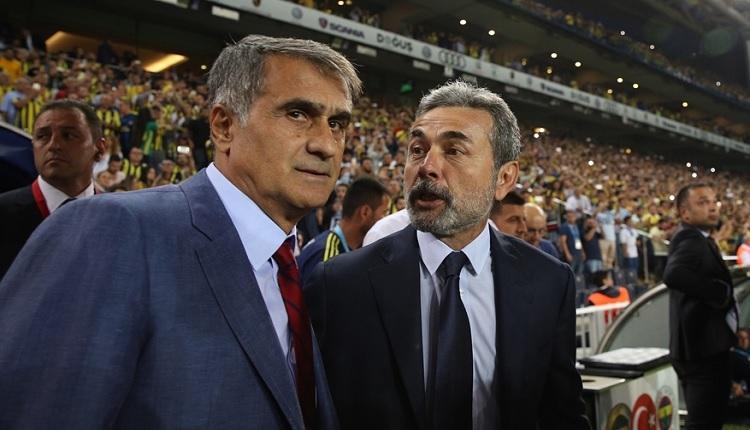 Fenerbahçe'de Aykut Kocaman Şenol Güneş ile yaşanan tartışmayı anlattı