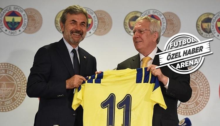 Fenerbahçe'de Aziz Yıldırım'dan Aykut Kocaman'a destek