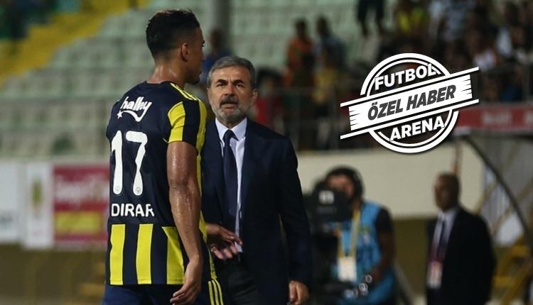 Fenerbahçe'de Dirar, Beşiktaş maçında oynayacak mı?