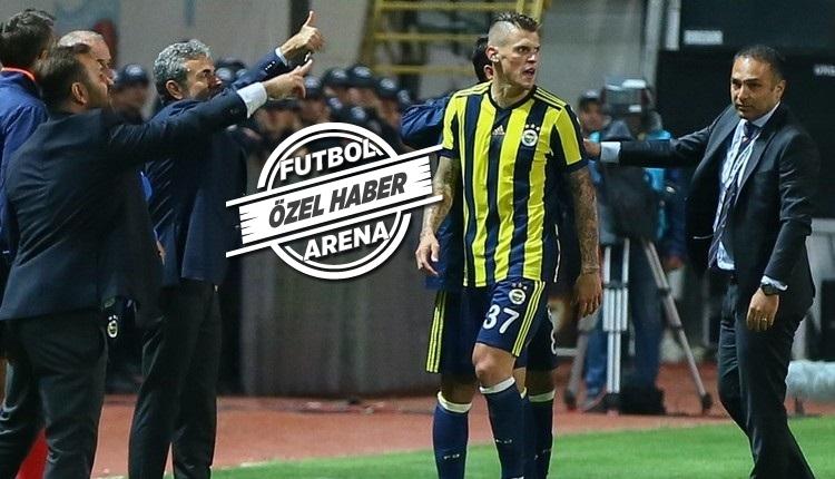 Fenerbahçe'de Martin Skrtel çıldırdı