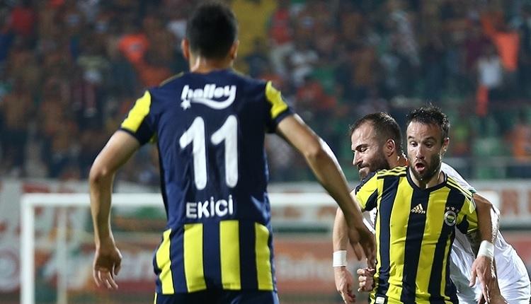 Fenerbahçe'de Mehmet Ekici'nin hasreti Alanya'da bitti
