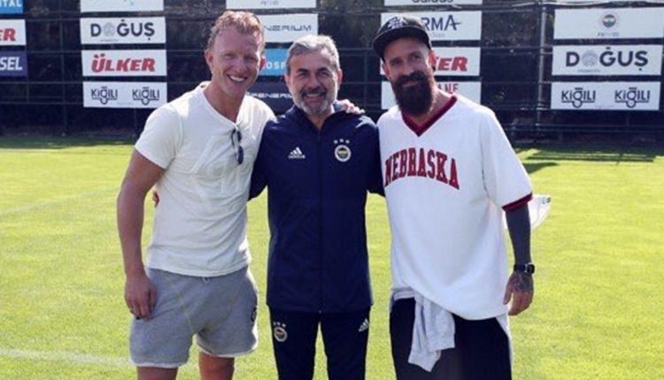 Fenerbahçe'de Raul Meireles ve ve Dirk Kuyt'tan ziyaret
