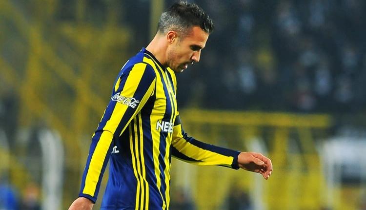Fenerbahçe'de Robin van Persie bu kez yolcu