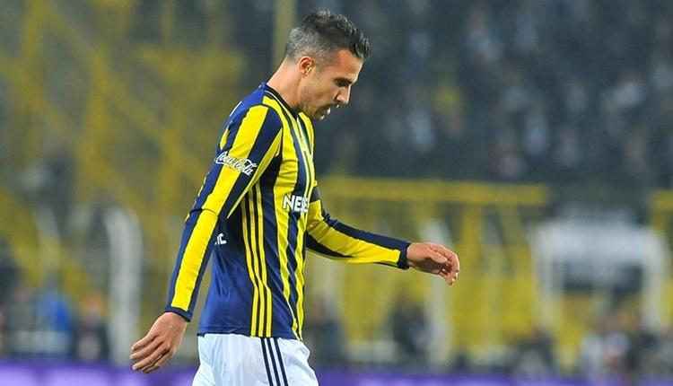 Fenerbahçe'de Robin van Persie'nin bileti kesildi