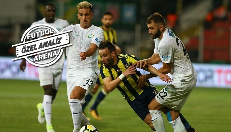 Fenerbahçe'de Valbuena ve Mehmet Ekici fark yarattı