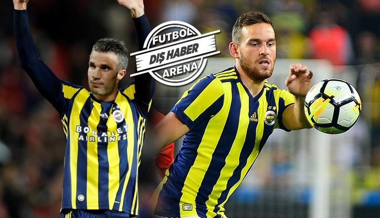 Fenerbahçe'de Van Persie'den Vincent Janssen'e övgüler