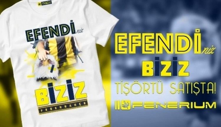 Fenerbahçe'den Beşiktaş'a olay gönderme! Tişört...