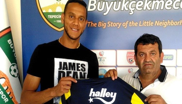Fenerbahçeli Josef de Souza Büyükçekmece Tepecikspor'u ziyaret etti