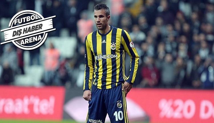 Fenerbahçeli Van Persie'yi transfer etmekten son anda vazgeçtiler