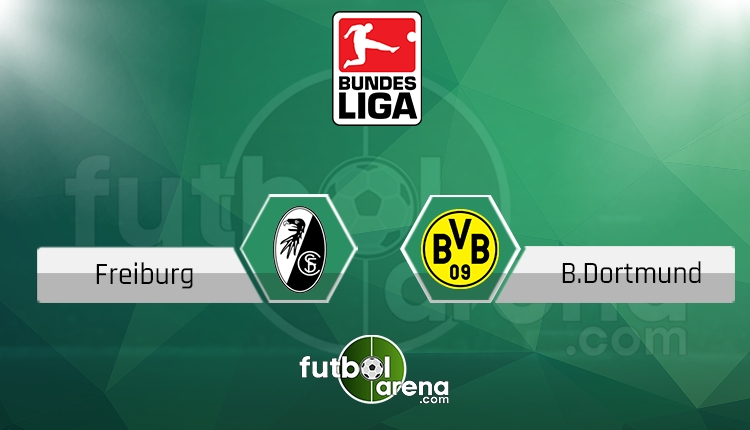 Freiburg Borussia Dortmund canlı skor, maç sonucu - Maç hangi kanalda?