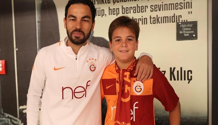 Galatasaray deplasman mağduru Yiğit'i ağırladı