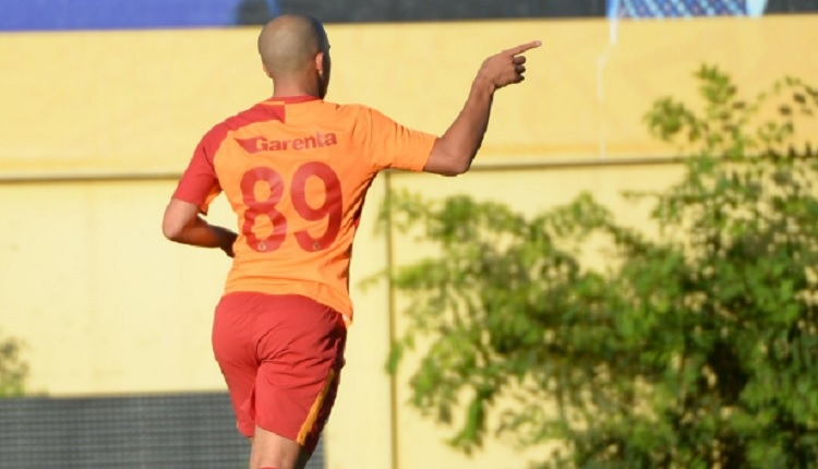 Galatasaray - Eyüpspor Feghouli önce korkuttu, sonra golünü attı (İZLE)