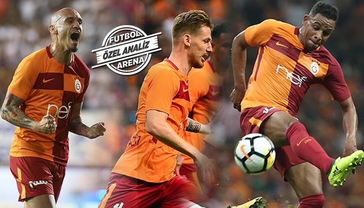 Galatasaray oyunu savunmadan kuruyor! Maicon ve Serdar...