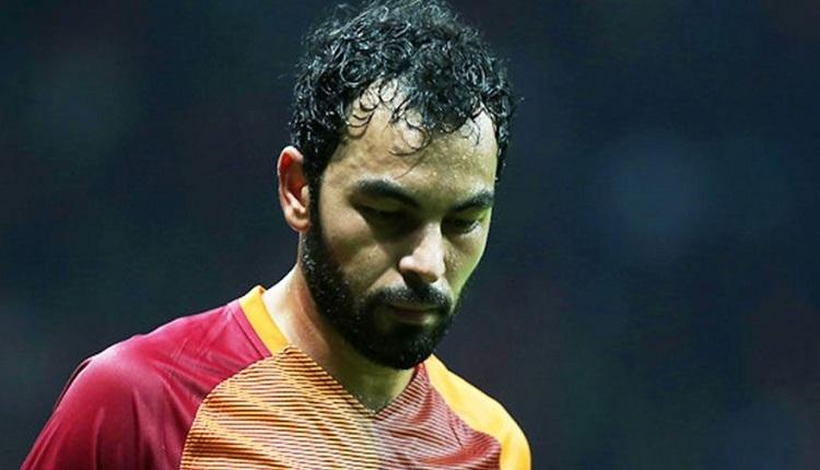 Galatasaray taraftarlarından Kasımpaşa maçında Selçuk İnan'a tepki