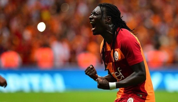 Galatasaray'da Bafetimbi Gomis, Saffet Sancaklı'ya yaklaştı
