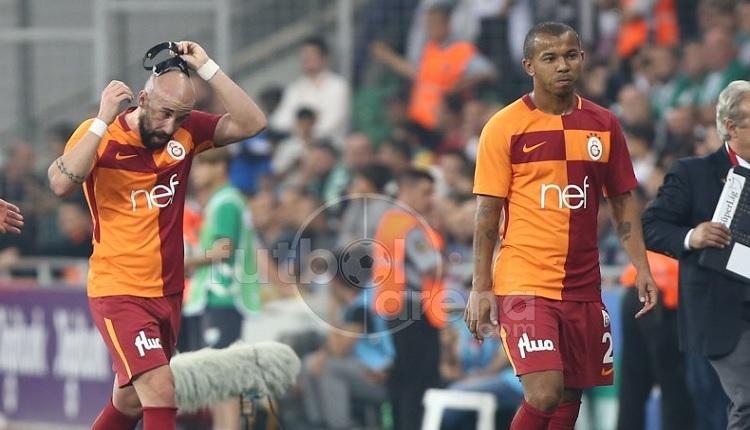 Galatasaray'da Bursaspor maçında Mariano'dan Tudor'a tepki
