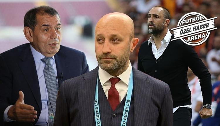 Galatasaray'da Dursun Özbek'ten Tudor'a mesaj