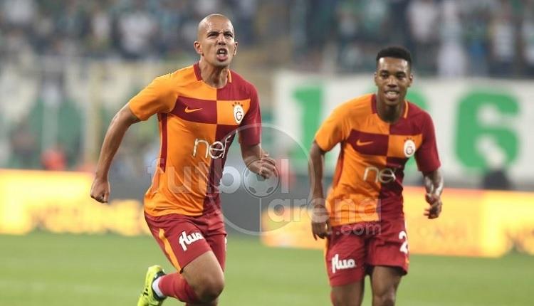 Galatasaray'da Feghouli'den Bursaspor'a muhteşem gol