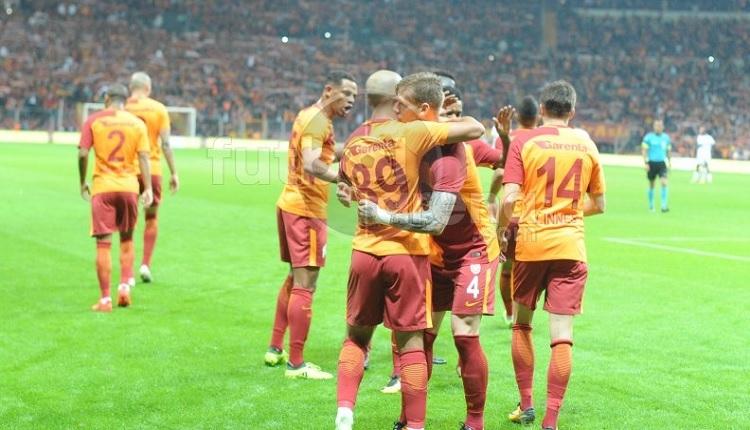 Galatasaray'da Feghouli'den Karabükspor maçında %100 isabet!