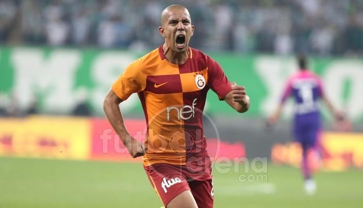 Galatasaray'da Feghouli'den Tudor'a mesaj
