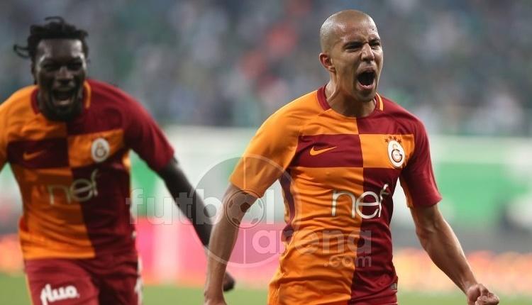 Galatasaray'da Feghouli'ye West Ham'dan mesaj
